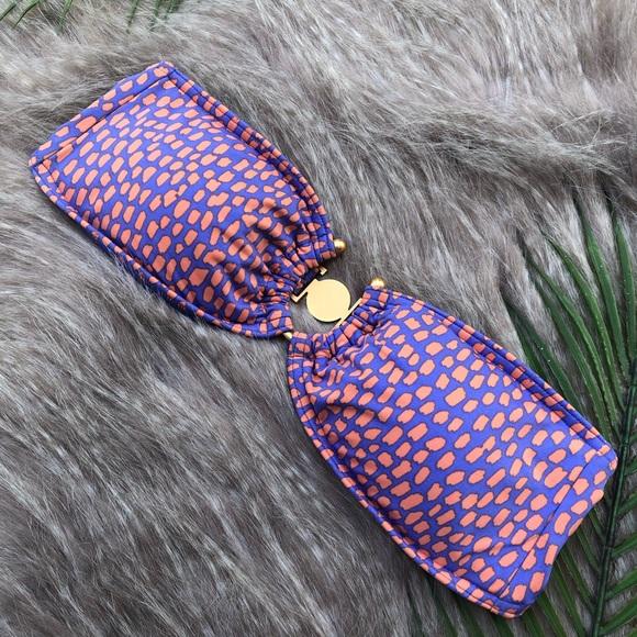 Victoria's Secret Other - Victoria's Secret | purple & orange swim top small